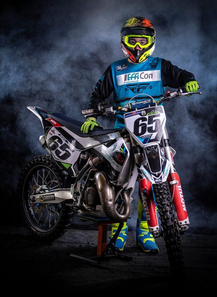 motocross, race, motorcycle